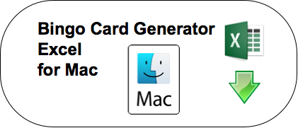 bingo card generator mac 25 words