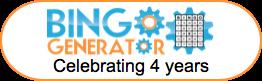 bingo card generator 4 years