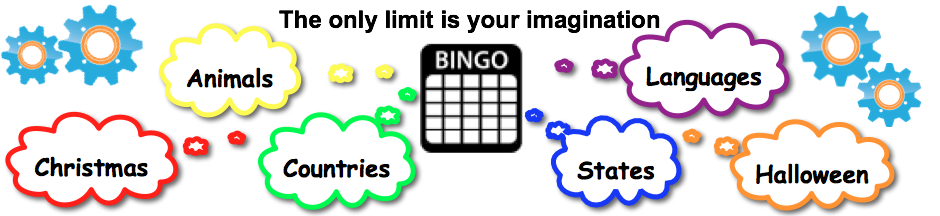 generate bingo cards with words