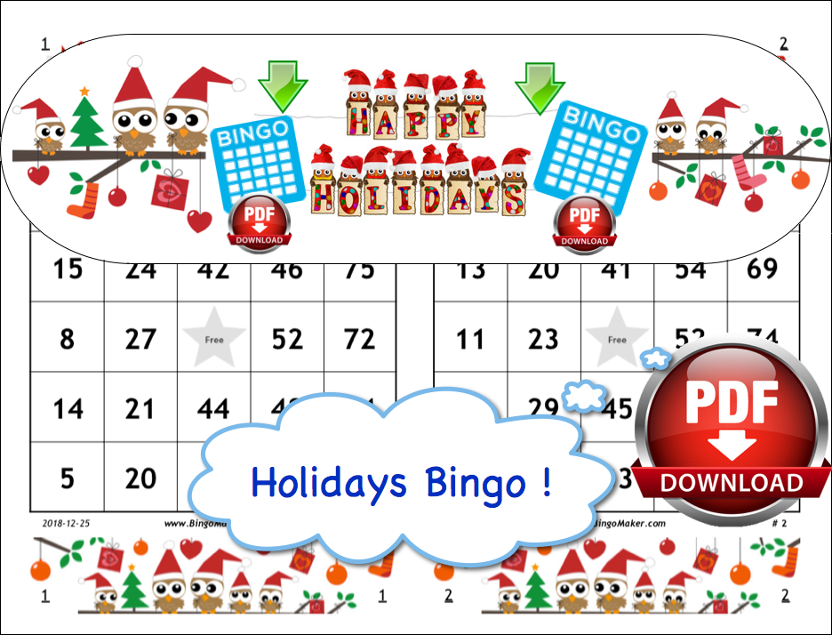 photo regarding 25 Printable Halloween Bingo Cards called Unique Bingo Playing cards - Bingo Card Generator